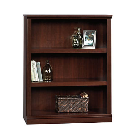 Sauder® Select Bookcase, 3 Shelf, Select Cherry