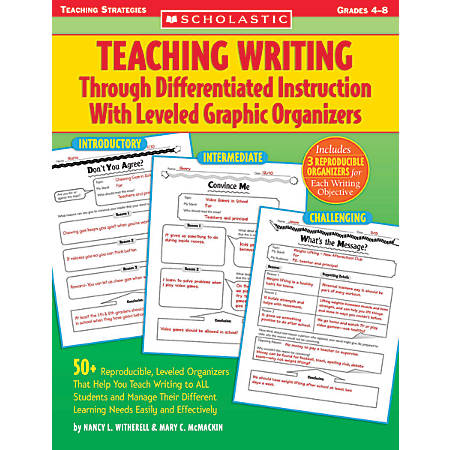 Scholastic Teaching Writing Through Differentiated Instruction With Leveled Graphic Organizers