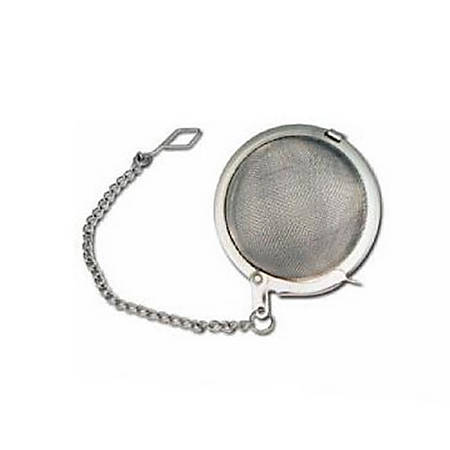 """Winco Stainless Steel Tea Infuser Ball With Chain, 2"""""""