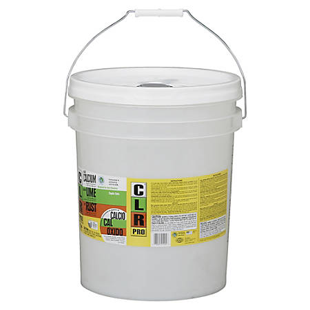 SKILCRAFT® CLR Calcium, Lime And Rust Remover, 5-Gallon Pail (AbilityOne 6850-01-560-6131)