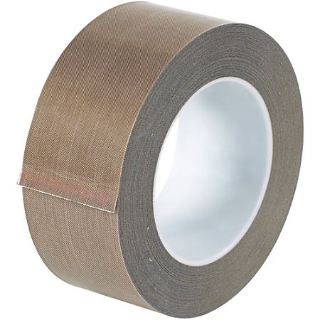 """Office Depot® Brand PTFE Glass Cloth Tape, 5 Mils, 3"""" Core, 2"""" x 54', Brown"""