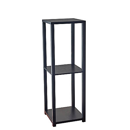 Adesso Lawrence Tall Pedestal, Black