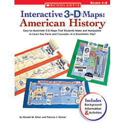 Scholastic 3D Maps American History 8