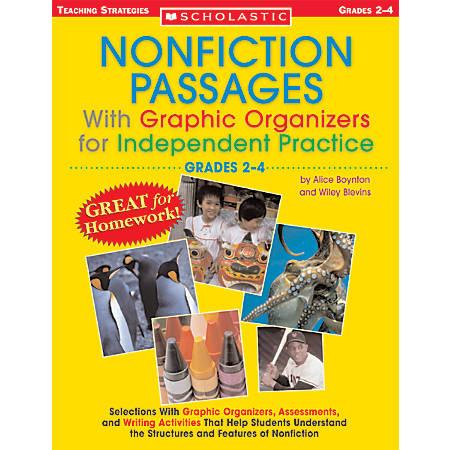 Scholastic Nonfiction Passages — Grades 4+, 8 3/8 x 10 7/8