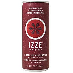 Izze Sparkling Juice Blackberry 84 Oz