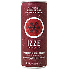 Izze Sparkling Juice Blackberry 84 Oz