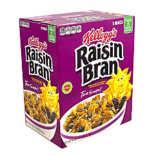 Kelloggs Raisin Bran Cereal 765 Oz
