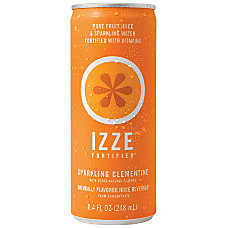 Izze Sparkling Juice Clementine 84 Oz