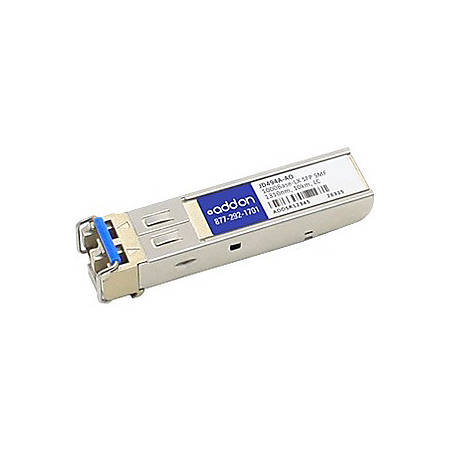 AddOn HP JD494A Compatible TAA Compliant 1000Base-LX SFP Transceiver (SMF, 1310nm, 10km, LC) - 100% compatible and guaranteed to work