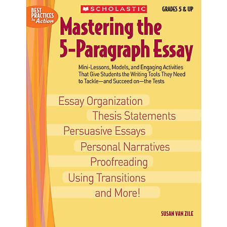 Scholastic Mastering 5-Paragraph Essay