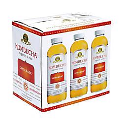 GTs Organic Raw Kombucha Gingerade 16