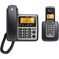Motorola DECT 60 CordedCordless Phone With