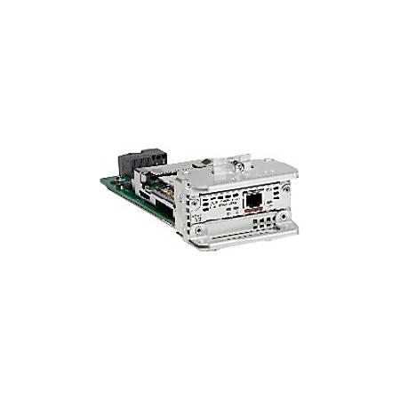 Cisco ISDN BRI U GRWIC WAN Interface Card (WIC) - For Wide Area Network 1 RJ-49C Network WAN