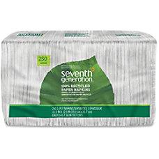 Seventh Generation 100percent Recycled Paper Napkins