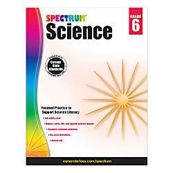 Carson Dellosa Spectrum Science Workbook Grade
