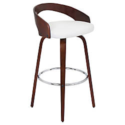 Lumisource Grotto Bar Stool WhiteCherry