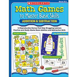 Scholastic Math Games AdditionSubtraction