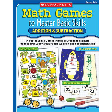 Scholastic Math Games — Addition/Subtraction