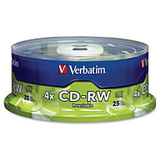 Verbatim CD RW Rewritable Media Disc