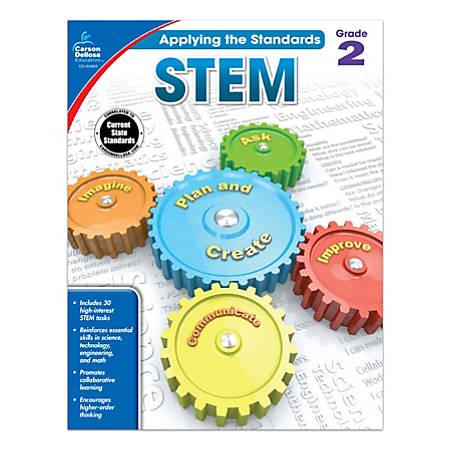 Carson-Dellosa™ Applying The Standards STEM Workbooks, Grade 2