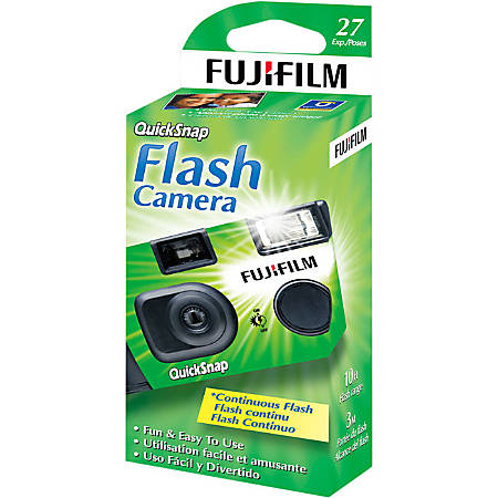 Fujifilm One Time Use 35mm Camera with Flash - 35mm