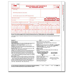 ComplyRight 1096 InkjetLaser Tax Forms 8