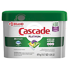 Cascade Platinum Action Pacs 167 Oz