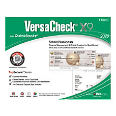 VersaCheck TopSecure X9 2020 For QuickBooks