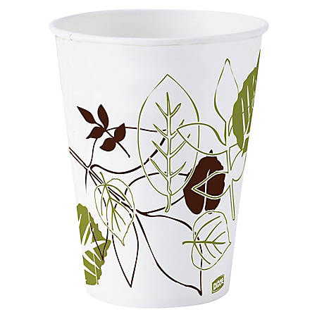 Dixie® Paper Cold Cups, 3 Oz., Pathways, Box Of 50