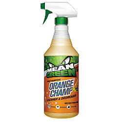 Mean Green Orange Champ Cleaner And