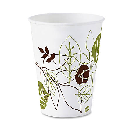 Dixie® Paper Cold Cups, 5 Oz., Pathways, Box Of 50