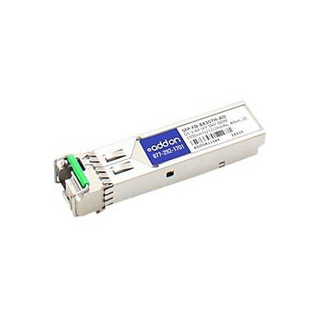 AddOn Brocade 10G-SFPP-ZRD-1559-79 Compatible TAA Compliant 10GBase-DWDM 100GHz SFP+ Transceiver (SMF, 1559.79nm, 80km, LC)