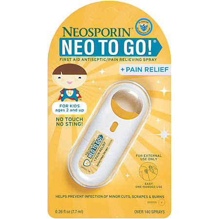 Neosporin Neo To Go Spray