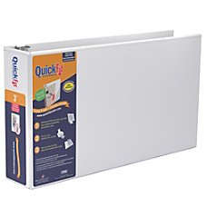 Stride QuickFit D Ring Overlay Binders