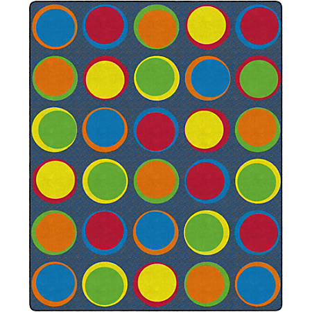 "Flagship Carpets Sitting Spots Rug, 10' 9"" x 13' 2"", Rectangular, Primary"