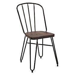 Office Star Charleston Folding Chairs Black