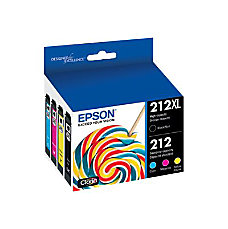 Epson 212XL 4 pack Hight Capacity