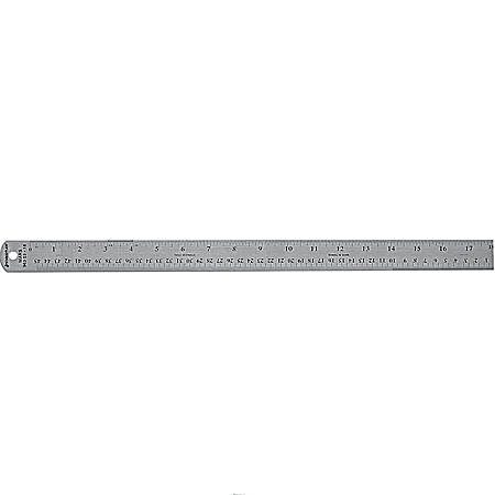 Staedtler® Stainless Steel Ruler, 18""