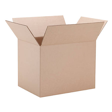 "Office Depot® Moving Box, 16-1/2"" x 12-3/4"" x 12-5/8"", 40% Recycled"