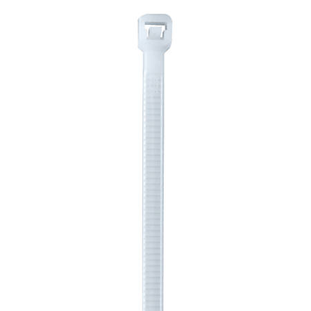 """Office Depot® Brand Nylon Cable Ties, 40 Lb, 14"""", Natural, Pack Of 500"""