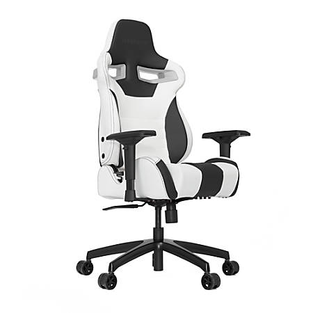 Vertagear Racing Series S-Line SL4000 Gaming Chair, White/Black