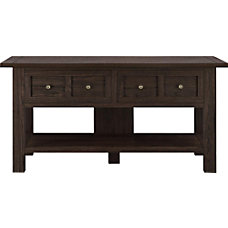 Ameriwood Home Pillars Apothecary Console Table