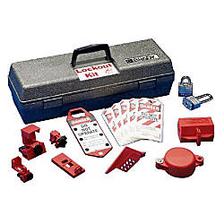 LOCKOUT TOOL BOX KIT WCOMPONENTS