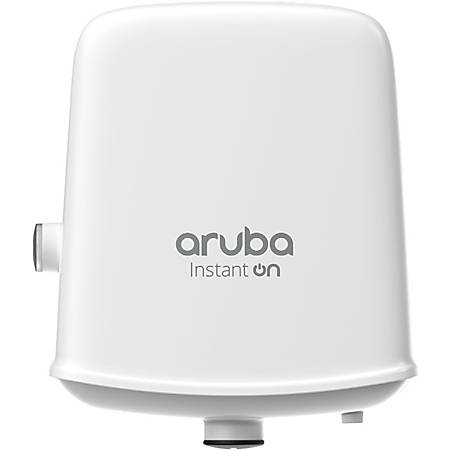 Aruba Instant On AP17 IEEE 802.11ac 1.14 Gbit/s Wireless Access Point - 2.40 GHz, 5 GHz - MIMO Technology - 1 x Network (RJ-45) - Gigabit Ethernet - Wall Mountable, Pole-mountable - 1 Pack