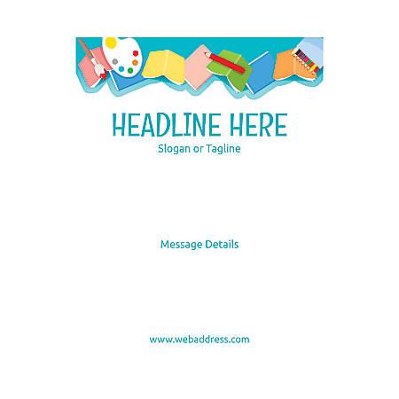 Custom Flyer, Vertical, Art Class