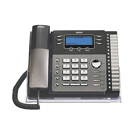 RCA 25423RE1 4-Line Corded Expandable Phone