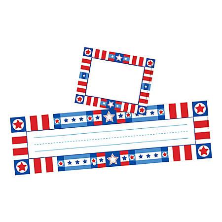 Barker Creek Name Tag And Name Plate Set, USA