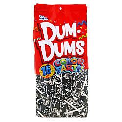 Dum Dums Black Cherry Lollipops Party