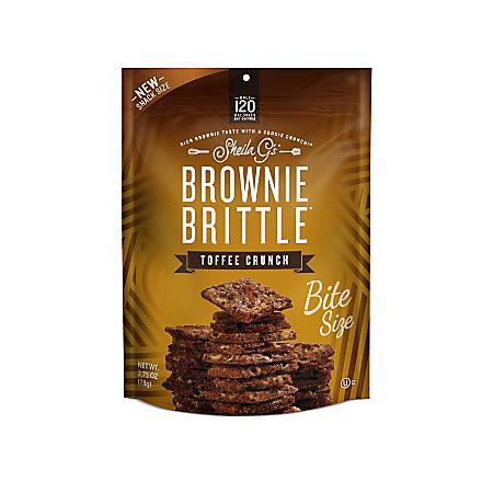 Brownie Brittle Toffee Crunch, 2.75 Oz
