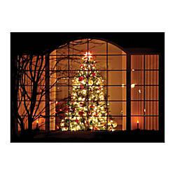 Sample Holiday Card Welcoming Glow
